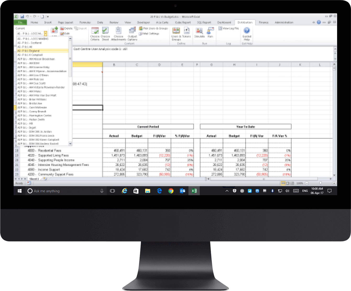 EiB Autism Initiatives Page -Data inside an Excel sheet