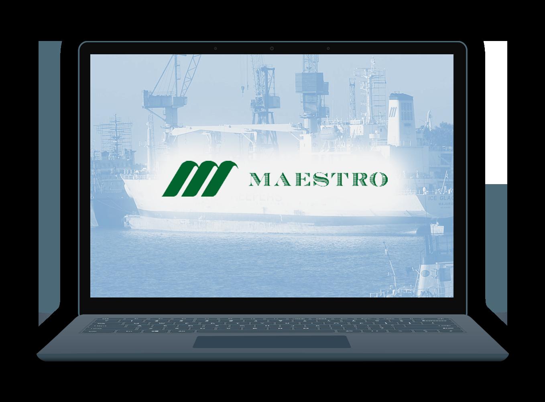 EiB Client Case Studies: Maestro Page - laptop