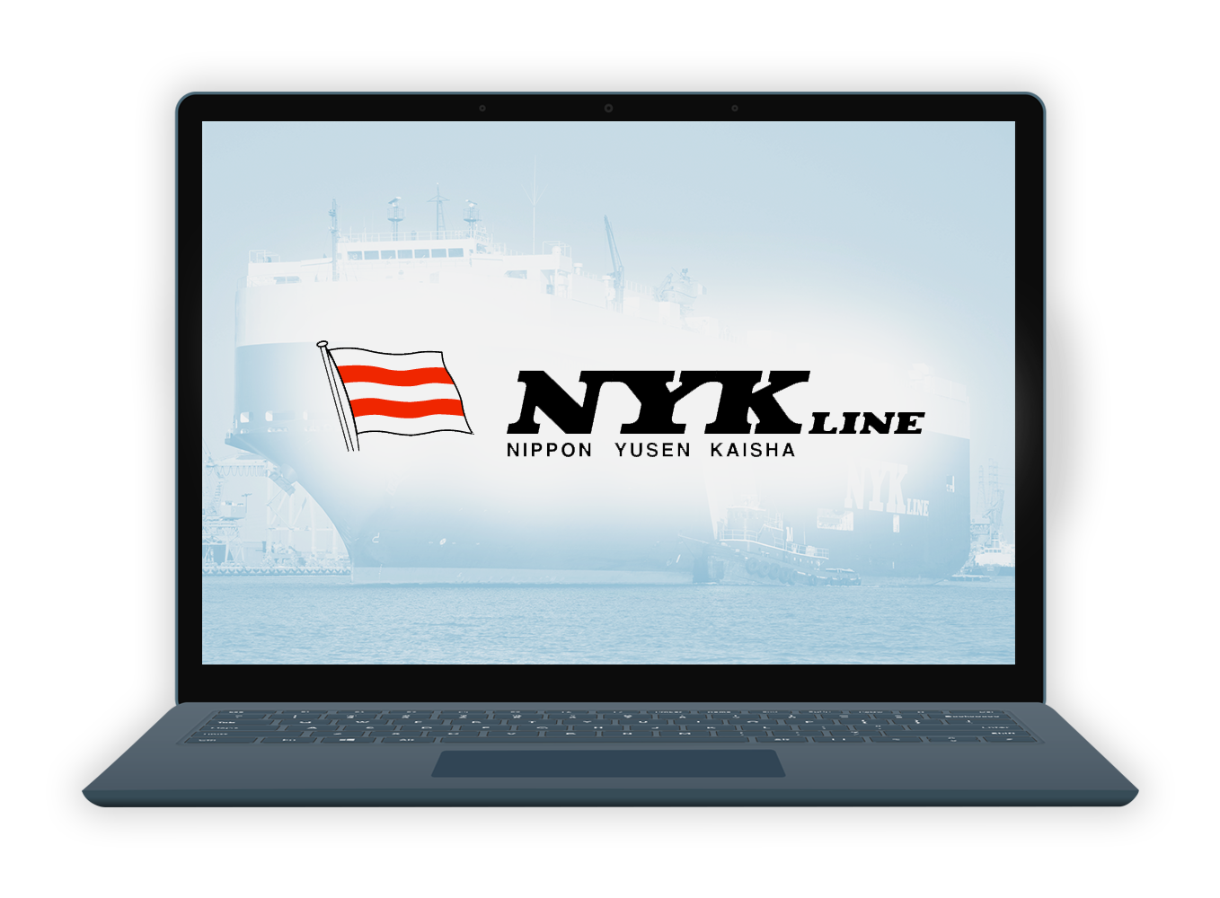 EiB Client Case Studies: NYK - laptop