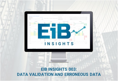 EiB Insights 003: Data Validation and Erroneous Data