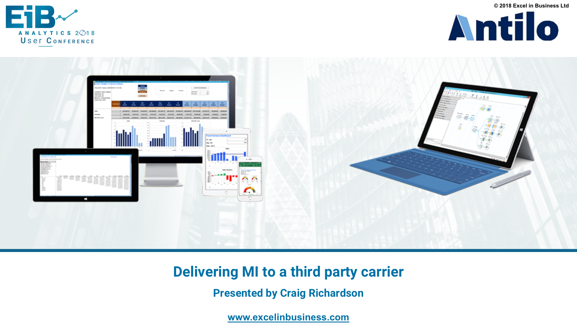 2.0 - Delivering MI to a third party carrier - Craig Richardson