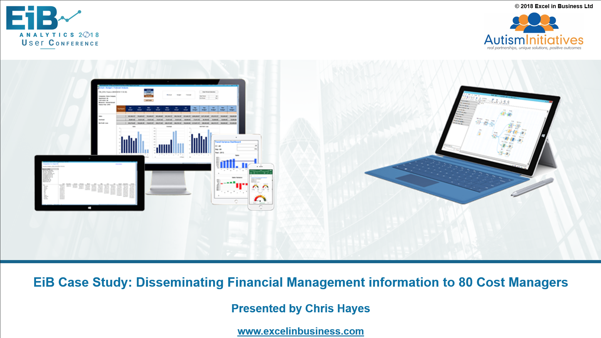 4.2 - Finance Stream - Disseminating Financial Management information to 80 Cost Managers - Chris Hayes