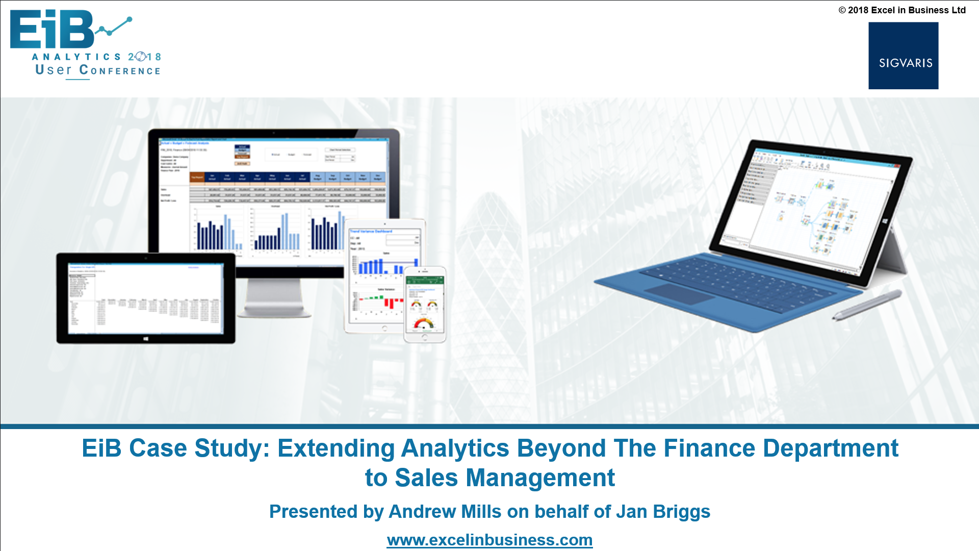 4.4 - Finance Stream - Extending Analytics Beyond the Finance Department to Sales Management - Jan Briggs