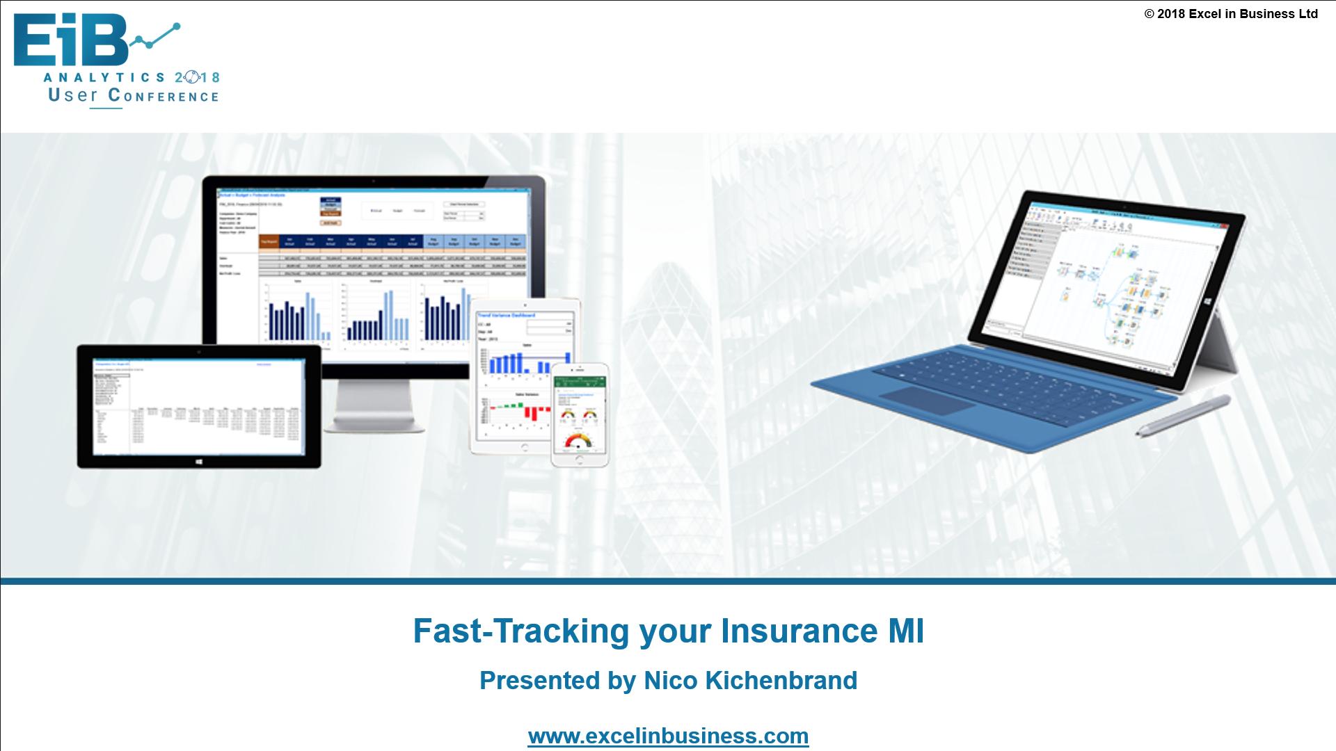 4.6 - Insurance Stream - Fast-Tracking your Insurance MI - Nico Kichenbrand