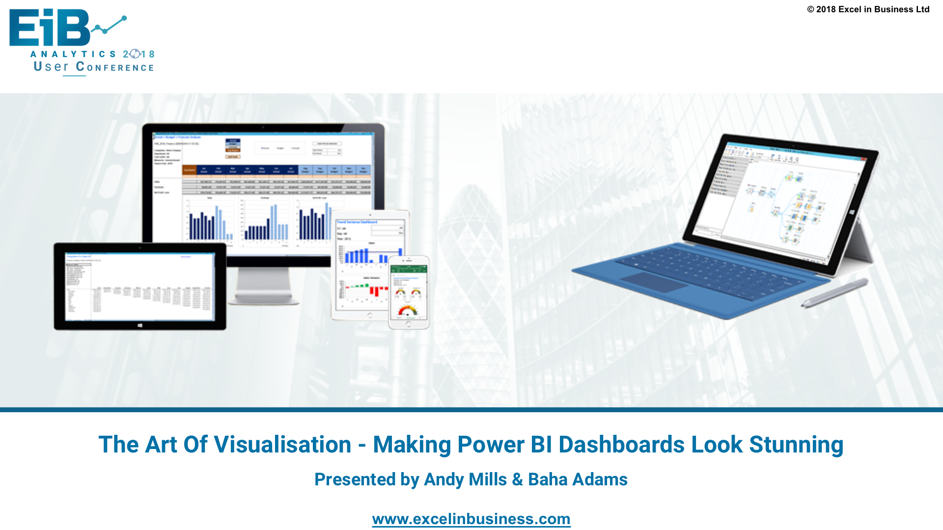 4.8 - Insurance Stream - The Art Of Visualisation - Making Power BI Dashboards Look Stunning - Andy Mills & Baha Adams