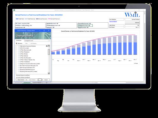 EiB Insurance Analytics - Walsingham Motor Insurance - Earned or Written vs. Incurred Breakdown