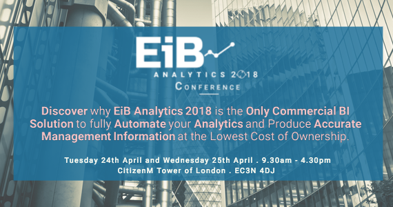 EiB Analytics 2018 Conference - The Future of Automated MI