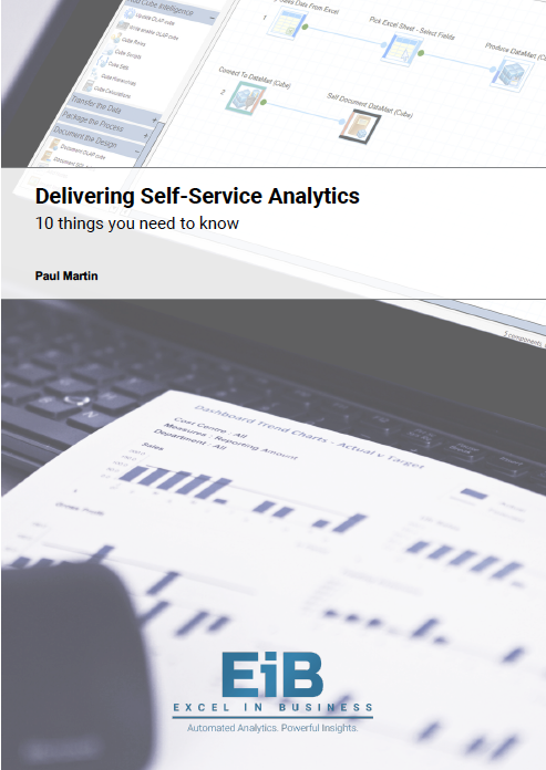 EiB Whitepaper - A Guide to Delivering Self-Service Analytics