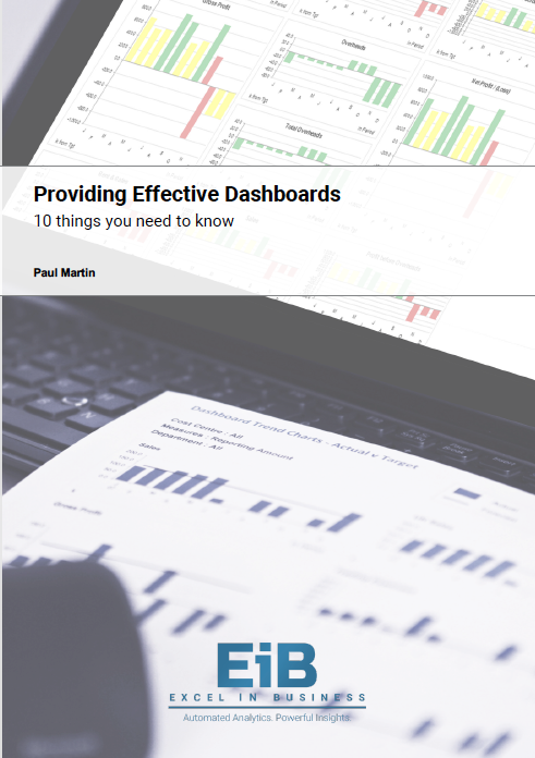 Whitepaper - A Guide to Providing Effective Dashboards